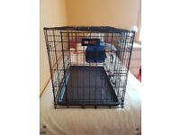 Dog cage for small dog.