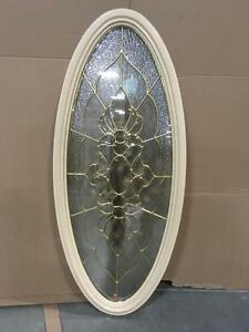 "Specialty Woodbridge 16""x 40"" OVAL Doorlite"