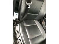 BMW E46 4 DOOR LEATHER INTERIOR SEATS COMPLETE SET WITH DOOR CARDS GOOD CONDITION