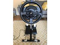 ThrustMaster T300 RS GT Edition + Wheel Stand Pro