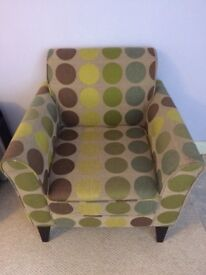 Next occasional/feature spotty chair