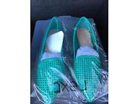 Next green shoes bmwt size 4