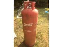 47kg Propane Gas Bottle - nearly empty