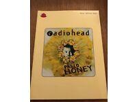 Radiohead guitar tab book
