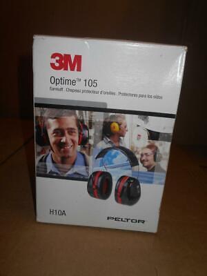 3m Peltor Optime 105 Over The Head Earmuff Ear Protectors