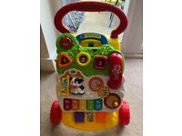 First Steps Vtech Baby Walker - Good Condition!