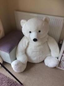 Very large teddy bear