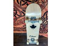 Skateboard barelynused