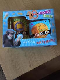 18 cool dude mug set *new*