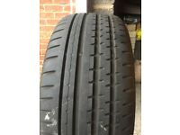 Tyres - Part Worn - Continental Sportcontact 2 SSR Size: 225/45 R17 91W