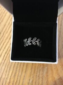 Brand New Pandora Lear Ring, Still in box