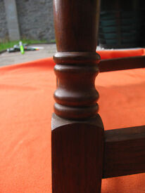 Solid wood, small dropleaf table - good condition - over 30 years old.