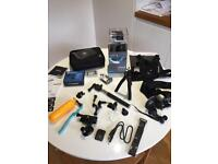 GoPro Hero 4 Silver - 64GB SD card and all extras included