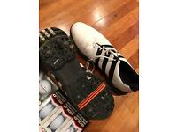 Adidas golf shoes size 9.5uk, balls, glove. Boost, Nike, Taylor made, callaway