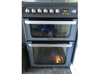 Freestanding Hotpoint Ultima cooker with extended warrenty