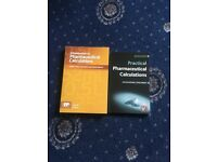 Pharmacy calculations books for sale.