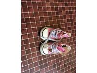 Girls sandals and converse