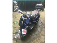 Lexmoto Verona 125cc Moped Delivery Possible