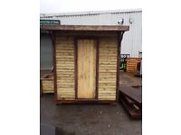 """Very solid Garden Shed 6"""" X 6"""""""