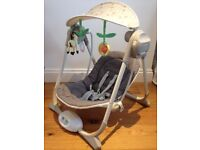 Baby Swing Chicco Polly - in excellent condition