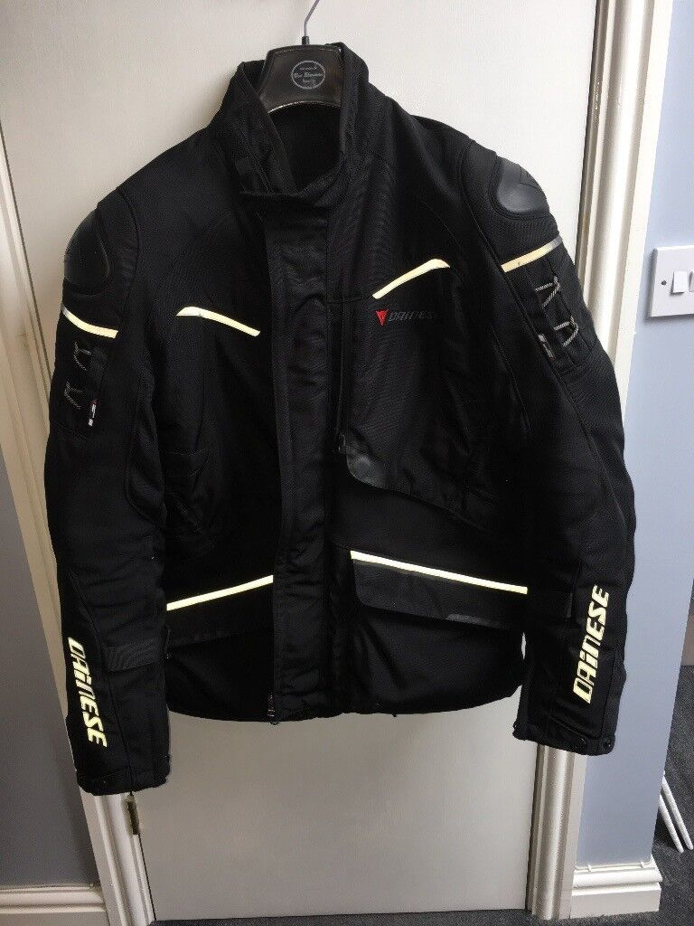 e3a66b69 DAINESE RIDDER D1 GORE-TEX® MOTORCYCLE JACKET (SIZE 56 = 44in Chest)