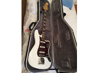 Fender Squier VI Vintage Modified Bass (NEW) with new hard case
