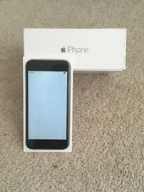 IPhone 6 in space grey 16gb on EE