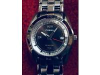 Fossil Stainless Steel Analogue Quartz Wristwatch (AM3988)
