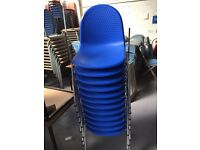 Blue Stacking Chair(s)