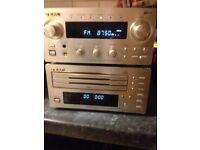 TEAC amp dab fm /mw,3 x disc aux ect...