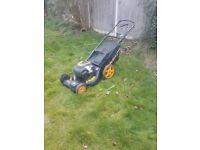 fantastic mcculloch petrol lawnmower