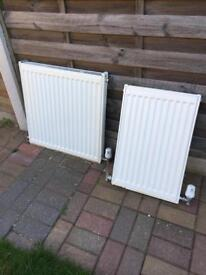 Single convector radiators a 600 and 400