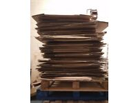Removal boxes, cardboard boxes, house moving boxes