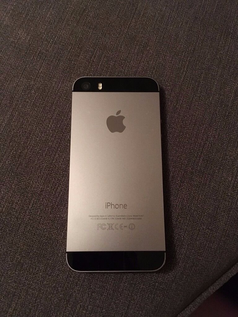 iPhone 5S 16Gb Space Grey (EEin Bicester, OxfordshireGumtree - Great condition perfectly functioning iPhone 5S. Selling because I upgraded. Minimal wear and tear see photos. Set up for EE but cheap to unlock