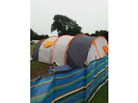 8 man tent in good condition no rips big tunnel tent