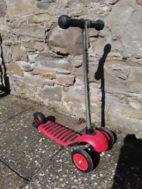 Red Scooter, very good condition, £15