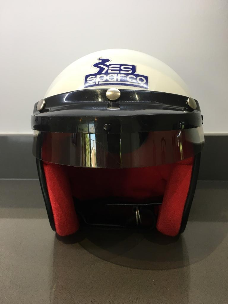 ES SPARCO MOTORSPORT TRACKDAY HELMET SIZE 59CM SIZE M | in Blaby,  Leicestershire | Gumtree