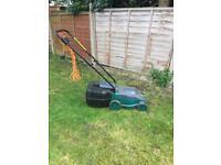 Power Base electric lawnmower