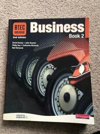 Business BTEC book 2nd Edition