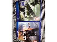 Battlefield 1 and Call of Duty Infinite Warfare