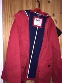 Brand new TOMMY HILFIGER jacket red