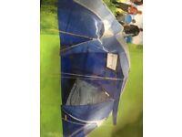 Used once Halfords new range range family tent