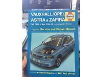 Vauxhall Astra Haynes repair manual