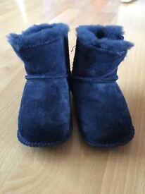 Baby ugg boots navy size 2
