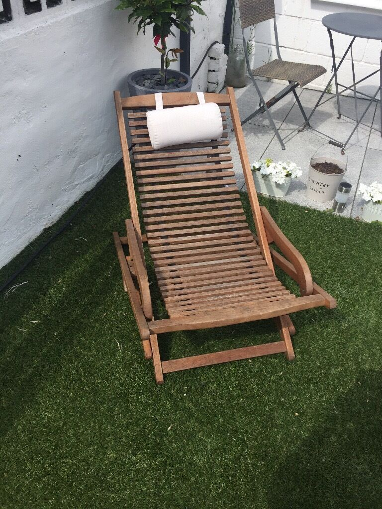 Peru homebase wooden deck chairs in barry vale of for Garden decking homebase