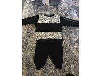 Baby Boy River Island Tracksuit 0-3 months