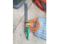 Electric hedge clippers - full working order, complete with blade cover