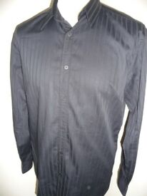 Ted Baker Black Striped Casual Shirt NEVER BEEN WORN !