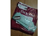 New TM Lewin Mint Tie