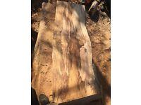 Solid hardwood beech planks